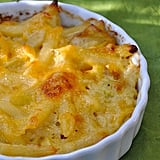 Leek and Cheddar Mac and Cheese