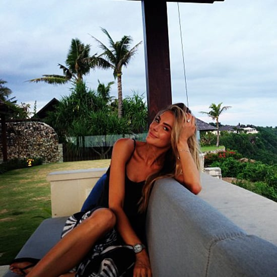 Jennifer Hawkins and Jake Wall Honeymoon Instagram Pictures