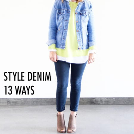 13 Ways to Rock Denim This Fall
