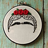 Frida Kahlo Unibrow Hoop