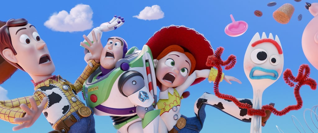In 2018, Pixar completely rocked all of our worlds with the Incredibles sequel we'd been waiting for since most of us were kids (there was a 14-year gap between movies!), and 2019 is going to be no different in terms of the anticipation that Disney is causing. Although there's only one Pixar movie hitting theaters in 2019 (PSA: there's already one announced for 2020, so get excited for that, too!), it's going to be good. It's Toy Story 4, y'all. Andy's toys are back, and even though we all thought that the third installment was when it was time to say goodbye to the beloved crew, it's time to get hyped for their comeback. Mark your calendars for the film's release on June 21 and get your kids excited by watching the movie teaser ahead together. And while you wait for June, check out the other Disney movies coming out in 2019, as well as the ones you can catch right now on Netflix!      Related:                                                                                                           The First Kids' Movie We Know Is Hitting Netflix in January Is by Disney, So Get Excited!