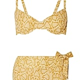 Faithfull the Brand Lila Snake-Print Bikini ($180)