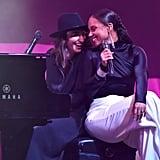 Alicia Keys and Sara Bareilles at City of Hope's 2019 Spirit of Life Gala