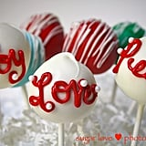 Sweet Holiday Cake Pops