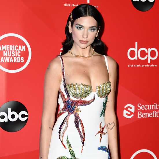 See Dua Lipa's Versace Starfish Dress at the 2020 AMAs