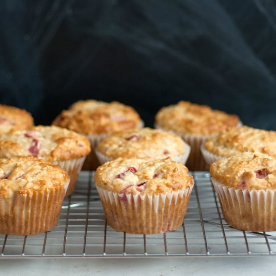 Strawberry-Oatmeal Muffins