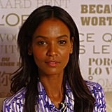 "Liya Kebede Reveals Her ""Fast as Possible"" Red Carpet Routine at the Cannes Film Festival"