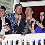 Channing Tatum Super Bowl Party in New Orleans