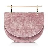 M2Malletier Velvet Mini Halfmoon Bag