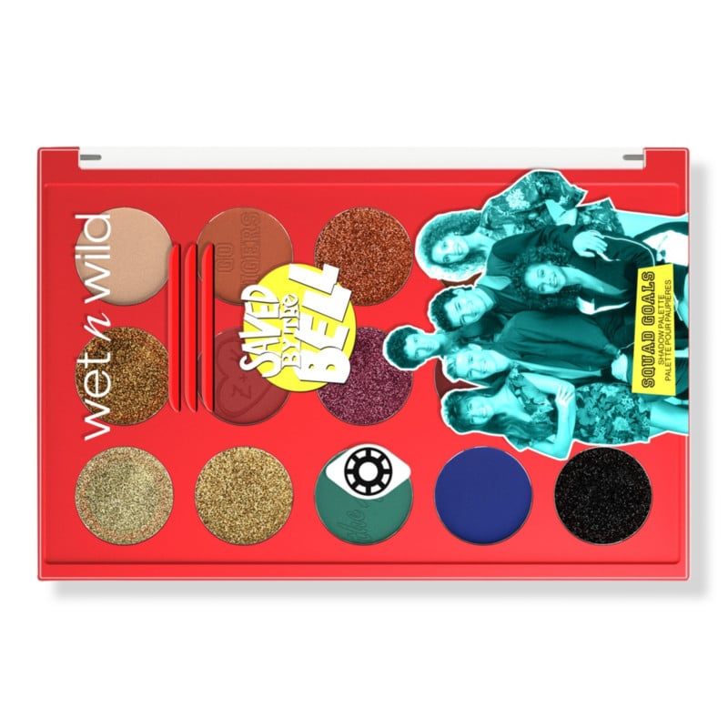 Wet n Wild x Saved by the Bell Squad Goals Eyeshadow Palette