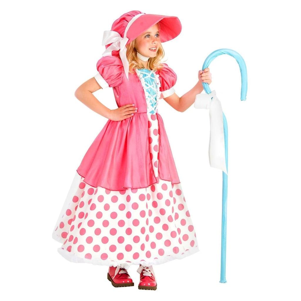 Kids' Polka Dot Bo Peep Costume