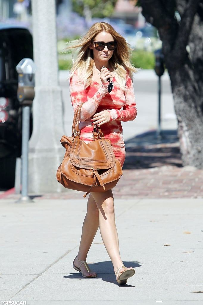 Lauren Conrad visited Byron & Tracey.