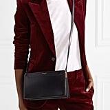 Saint Laurent Catherine Leather Shoulder Bag