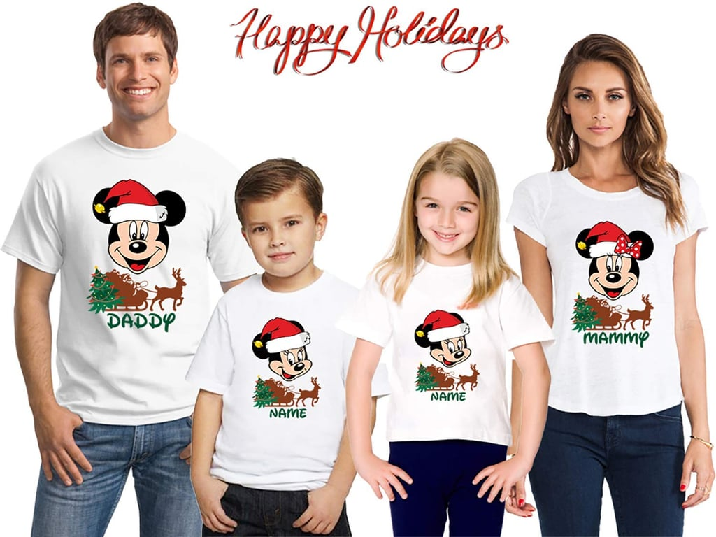 Matching Christmas Shirts For Family.Disney Matching Christmas Shirts Matching Family Disney