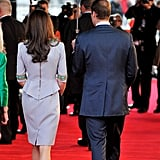 Kate Middleton Pictures With Prince William at African Cats