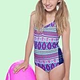 Gossip Girl Stripe Fusion One-Piece Swimsuit
