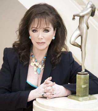 Jackie Collins Loves Gadgets, Hates When They Aren't Set Up