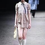Floral Dress: Gucci
