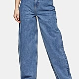 Topshop Mid Blue Baggy Jeans