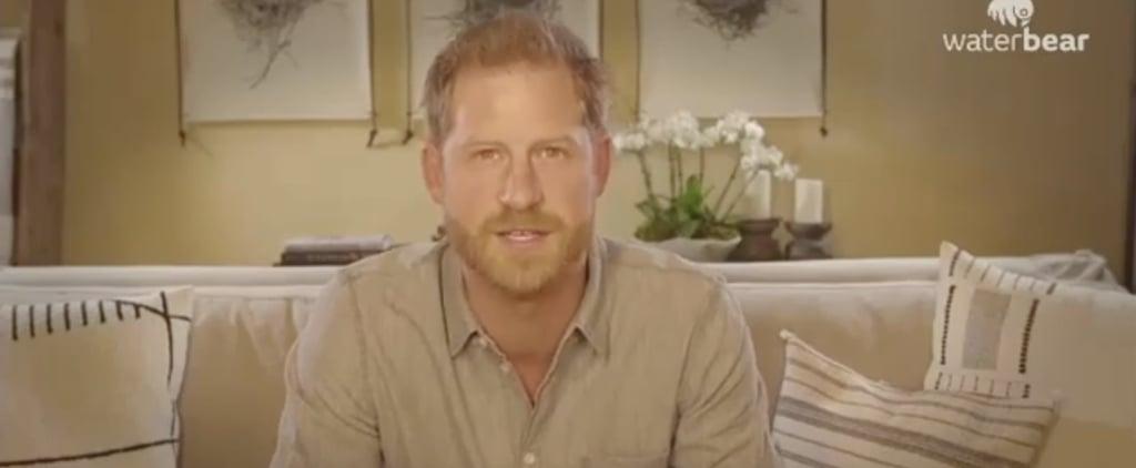 Prince Harry on Fatherhood and WaterBear   Video