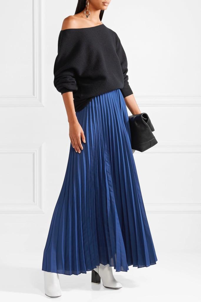 DVF Pleated Skirt
