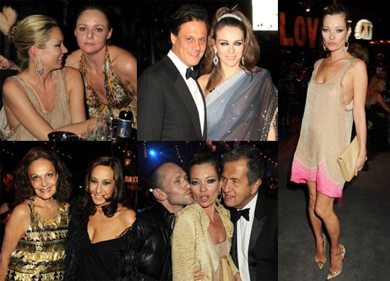 Photos of Kate Moss, Stella McCartney, Elizabeth Hurley at the Love Ball in London