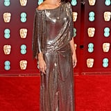 She Wore This Slinky Number to This Year's BAFTA Awards