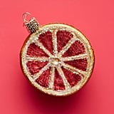Sliced Grapefruit Ornament