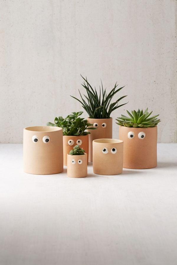 Googly Eye Planters