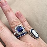 Sapphires on Sapphires Is Fine by Us