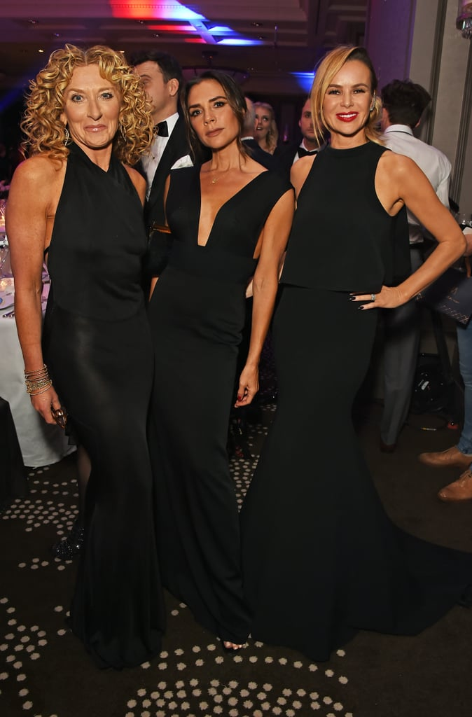 Victoria Beckham showed her support for close pal Eva Longoria on Nov. 2, and she did it with absolute elegance. The fashion designer stepped out for the Global Gift Gala, hosted by Eva in London, and her understated style caught everyone's attention once again.  While she posed with stars like former Spice Girl Mel C and her son Brooklyn Beckham, we couldn't help but fawn over her minimal black gown for the occasion. The dress features a couple of Victoria's go-to details: a plunging neckline and fitted silhouette. She tied the whole ensemble together with a silver diamond necklace and open-toed shoes. We've seen looks like this from the designer before, but each features a new variation that's sure to impress all over again. From her days as Posh Spice to her runway legacy, Victoria taught us that black doesn't have to be boring — that's a style lesson we'll hold onto.      Related:                                                                                                           The Striking Transformation of Victoria Beckham's Little Black Dress