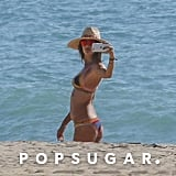 Alessandra Ambrosio Bikini Pictures in Malibu October 2016