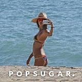 Alessandra Ambrosio Bikini Pictures in Malibu October 2016