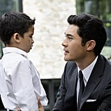 Ian Ho and Henry Golding as Nicky and Sean