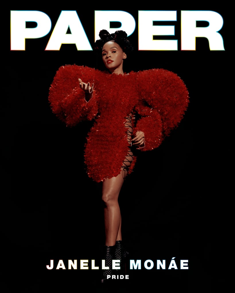Janelle Monae's Paper Magazine Cover