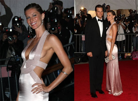 Gisele Bundchen and Tom Brady at the 2008 Costume Institute Gala