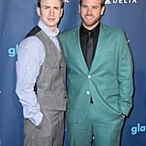 Chris and Scott Evans
