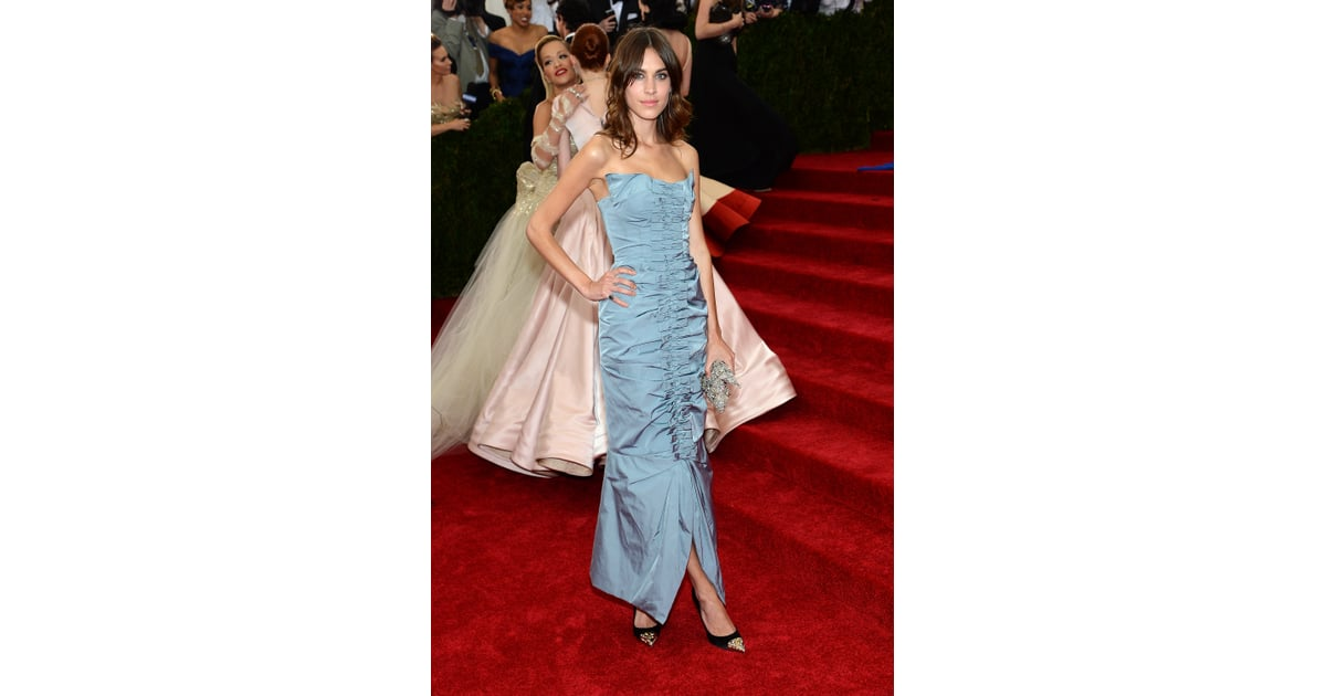 Alexa Chung at the 2014 Met Gala | Who Wore What: See ...