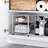 Wire Pull-Out Cabinet Organizer