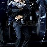 Rachel Zoe hung out with her son Skyler Berman.