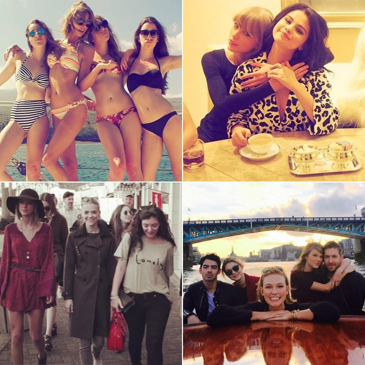 Instagram Pictures of Taylor Swift and Her Friends