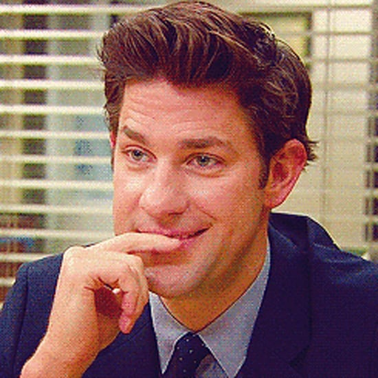 John Krasinski on The Office | GIFs