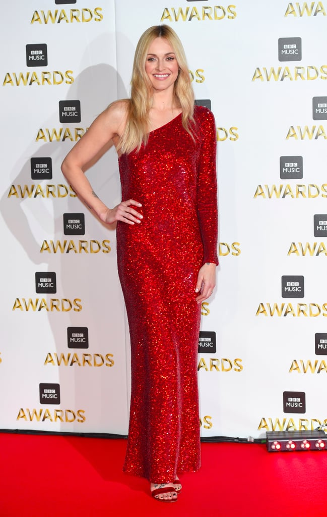 cf116691 Fearne Cotton in Red Sequinned Dress at the BBC Music Awards ...