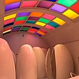 And, of course, no visit is complete without experiencing Sketch's psychedelic bathroom.