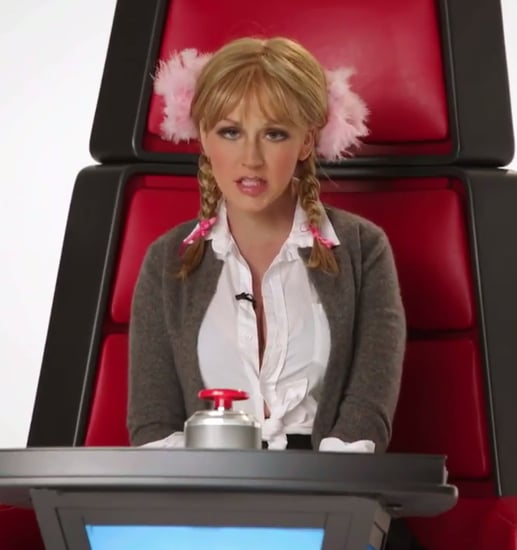 Christina Aguilera Does Impressions For The Voice Video