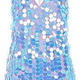Motel Finn Deep V-Neck Sequin Slip Dress