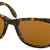 Ray Ban RB4105 Folding Wayfarer Light Havana 710 Sunglasses Brown Lens-50mm ($143)