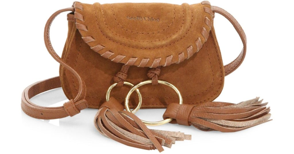 See by Chloe Polly Suede & Leather Belt Bag