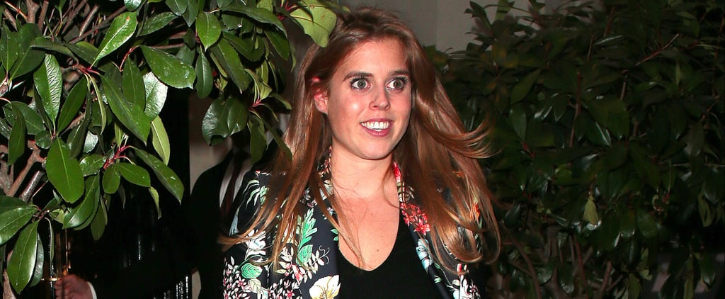 Princess Beatrice Is Already Wearing Fall's Most Popular Print on Her Coat
