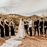 This Desert Wedding Had a Mixed-Gender Bridal Party